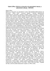 Pakiet Office - Notatki - Programowanie