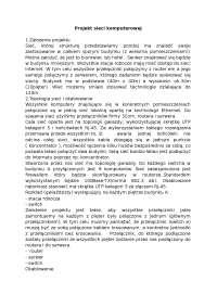Projekt sieci komputerowej - Notatki - Systemy i sieci