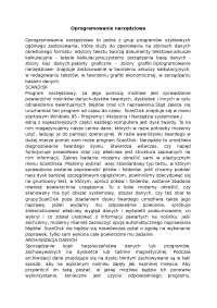 Oprogramowanie narzędziowe - Notatki - Programowanie
