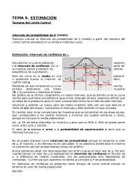 T6 Estimación