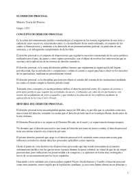 Concepto de Derecho Procesal - Apuntes - Derecho Procesal