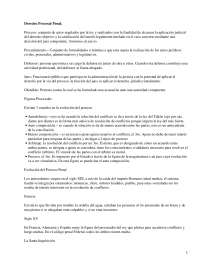 Derecho Procesal Penal - Apuntes - Derecho Procesal