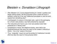 Donaldson Lithograph - Asset Managment - Lecture Slides