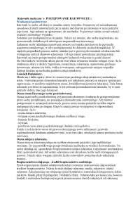 Ratownik medyczny - Notatki - Ergonomia