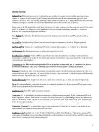 Derecho Procesal - Apuntes - Derecho Procesal
