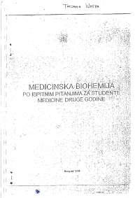 Medicinska biohemija sa ispitnim pitanjima-Skripta-Medicinska biohemija-Medicina1