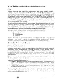 Razvoj Inforaciono Komunikacijskih Tehnologija- Skripta-Ekonomija