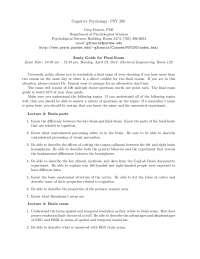 Speech - Introduction to Cognitive Psychology - Handout