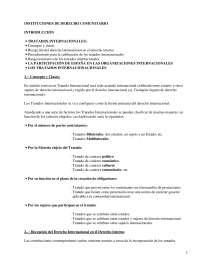 Instituciones de derecho comunitario - Apuntes - Derecho Comunitario