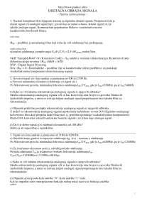 Test sa odgovorima-Ispit-Digitalna obrada zvuka-Elektrotehnika (4)