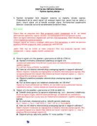 Test sa odgovorima-Ispit-Digitalna obrada zvuka-Elektrotehnika (2)