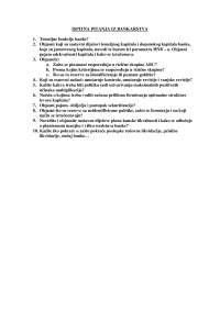 Ispitna Pitanja Ispit Ekonomika Ekonomija 11 Ispiti Predlog Ekonomija Docsity