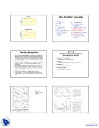 Advanced Models - Coal Combustion - Lecture Slides