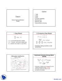 Coal Devolatilization Model - Coal Combustion - Lecture Slides