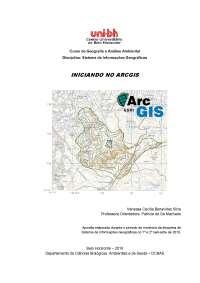 apostila - arcgis - prof - patricia, Notas de estudo de Engenharia Florestal