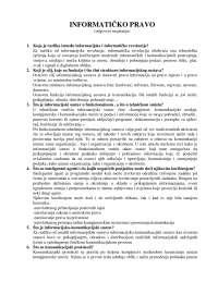 Odgovori Na Ispitna Pitanja Ispit Pravna Informatika Pravo 2 Ispiti Predlog Pravna Informatika Docsity