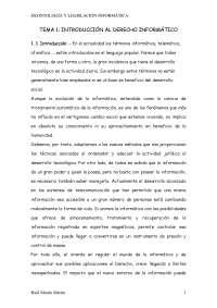tema 1 derecho informatico resumen