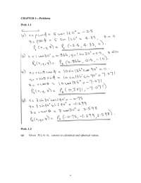 elements of electromagnetics(sadiku) fourth edition chapter-1-coordinate-systems-transformation