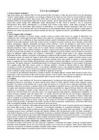 Corso di sociologia, Bagnasco, Barbagli, Cavalli