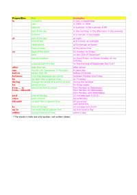 Schemi Prepositions-time