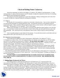 Melting Points - Organic Chemistry - Lab Manual