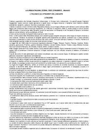La lingua italiana. Storia, testi, strumenti - Marazzini