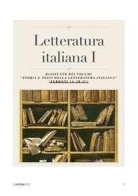 Storia e testi della letteratura italiana - Ferroni