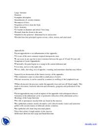 Digestive System, Absorption - Human Body Anatomy - Lecture Notes