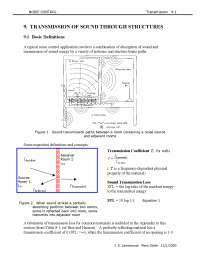 Transmission - Noise Control - Handout