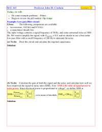 Op-Amps - Instrumentation, Measurements, Statistics - Handout