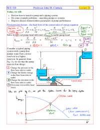 Dimensionless Parameters - Fluid Flow - Handout