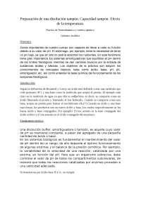 Fundamento teorico para 2ª práctica de termodinamica y cinetica quimica