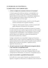 ECONOMIA DEL SECTOR PUBLICO