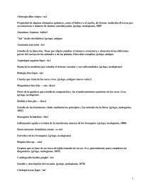 Apuntes sobre conceptos de medicina