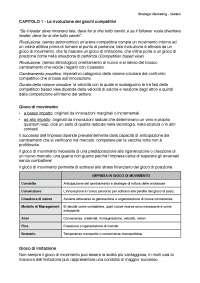 Strategie competitive - Esame Marketing Bocconi