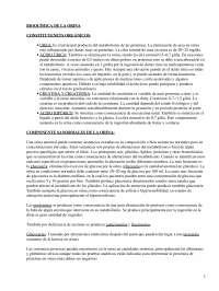Apuntes sobre Bioquímica de la orina