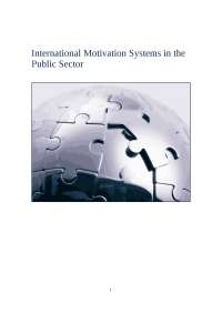 MOTIVATION I PUBLIC SECTOR