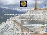 Appunti sull'attività di cantiere e relazione geologica