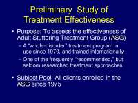 Preliminary  Study - Health - Lecture Slides