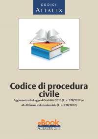Codice di procedura civile (2013)