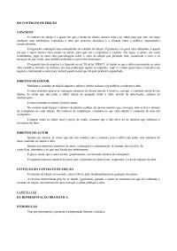 o Contrato de edição