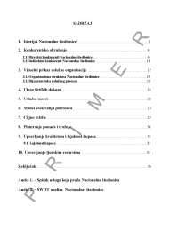 Sadrzaj menadzment usluga-sKRIPTA-mENADZMENT USLUGA-Ekonomija