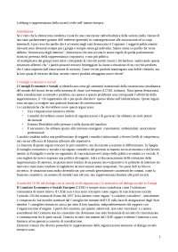 Pirzio - Lobbyng e rappresentanza della società civile nell