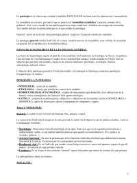 Apuntes sobre Patologia_Parte1
