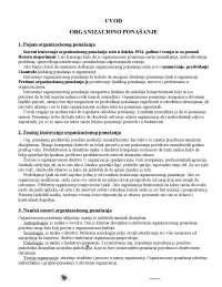 Organizaciono ponasanje1-Skripta-Organizaciono ponasanje-Ekonomija