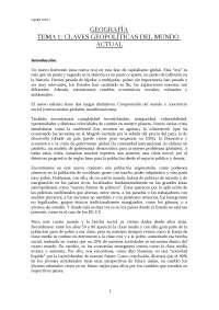 Geografía Tema 1