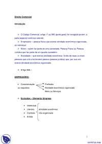 Direito Comercial e empresários_Parte1