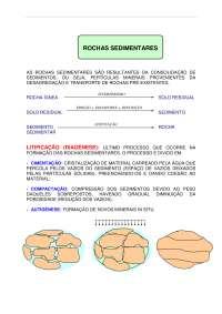 As Rochas Sedimentares