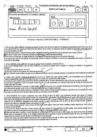 Direito de Família 2º Prova