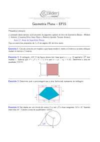 Geometria Plana EP15-GP-2012-2-questoes